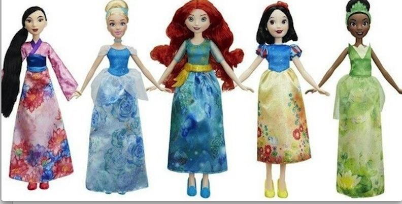 Hasbro Royal Shimmer five dolls