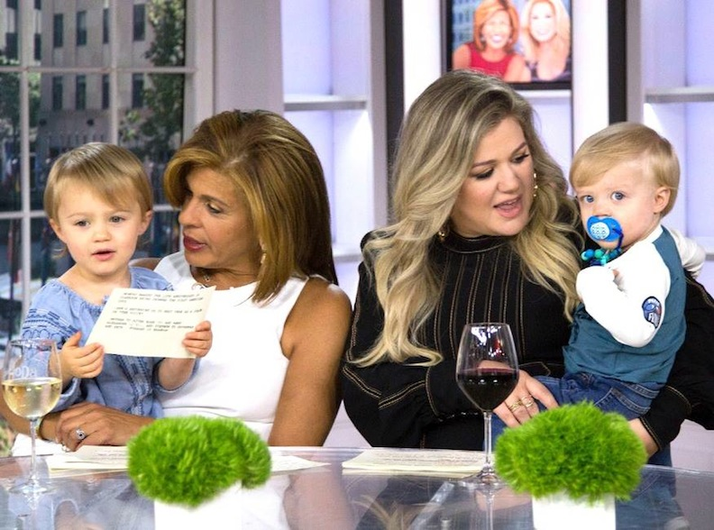 Kelly Clarkson on TODAY show