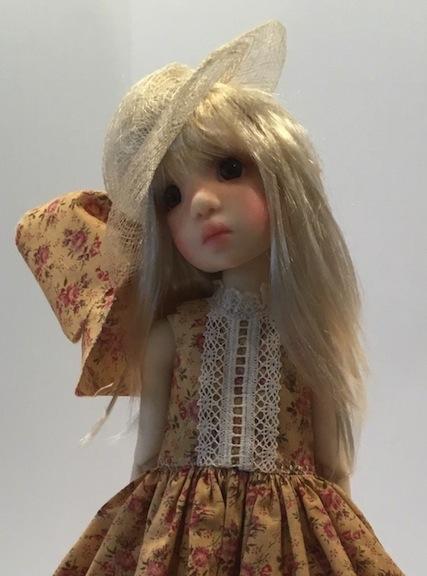 Kaye Wiggs doll Abby wearing Edith Schmidt