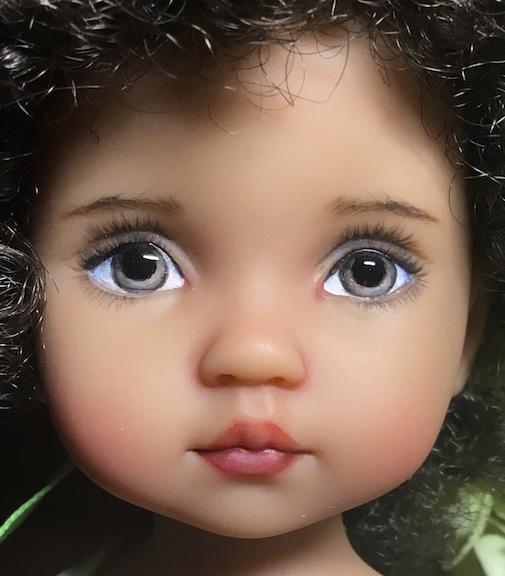 "Boneka Dolls ""Tuesday's Child"" by April Norton"