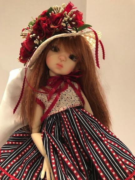 Talyssa dressed by Edith Schmidt