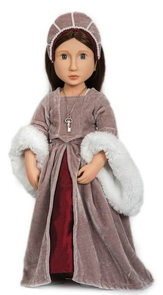 Matilda Your Tudor Girl doll