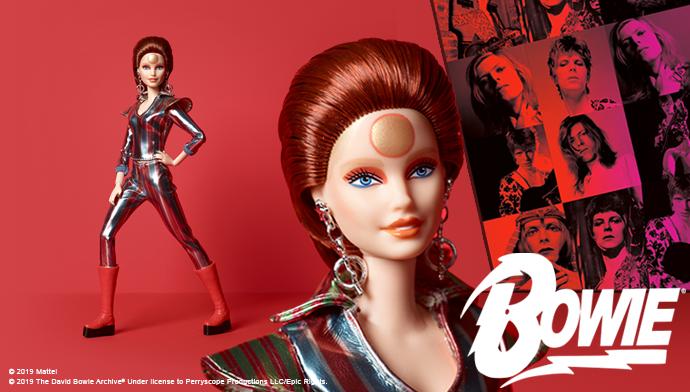 Barbie x David Bowie Doll