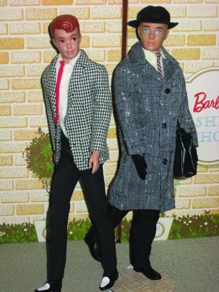 Ken's buddy Allan (left) was also billed as a boyfriend for Barbie's friend Midge.