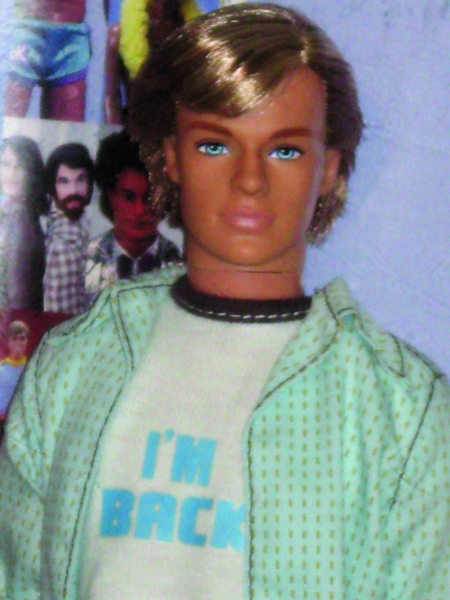 Ken got another new face in a special Ken doll for the Times Square Toys R Us.