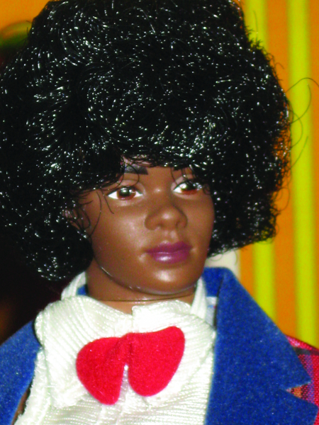 African-American Ken with afro
