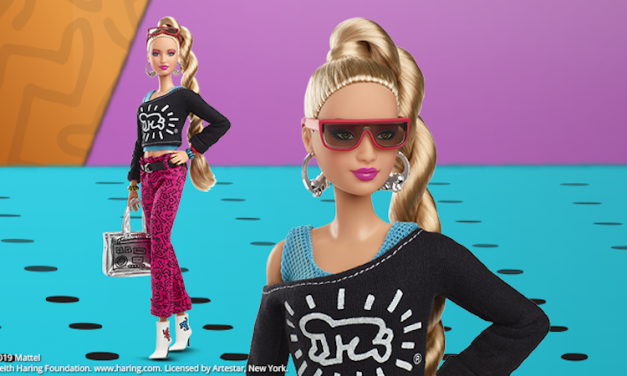 Pop Princess: Keith Haring Barbie evokes 1980s attitude