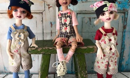 Human Interest: Kimberly Lasher makes dolls that share love